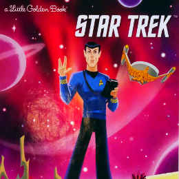 Little Golden Book I am Mr Spock book review