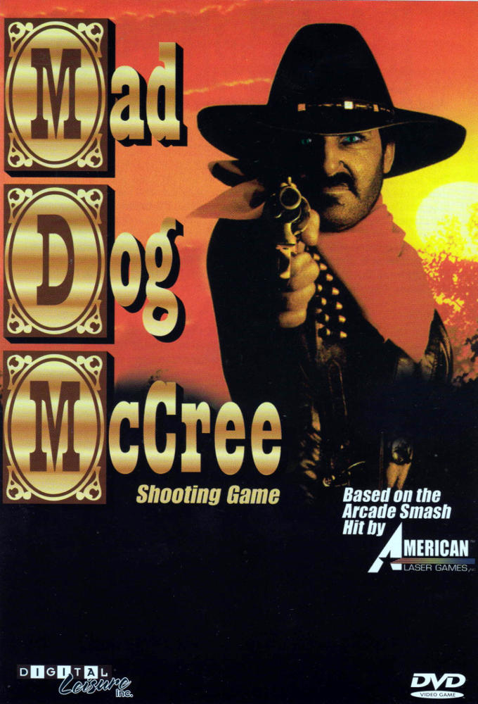 Mad Dog McCree Shooting Game DVD instructions cover