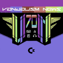 Commodore C64 Vanadlism News Magazine 70