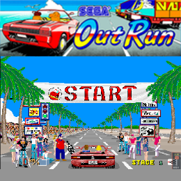 Sega Outrun Coin Op Virtual Machine
