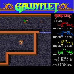 Atari Gauntlet Coin-Op Virtual Machine