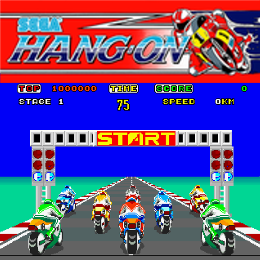 Sega Hang-On Coin-Op Virtual Machine
