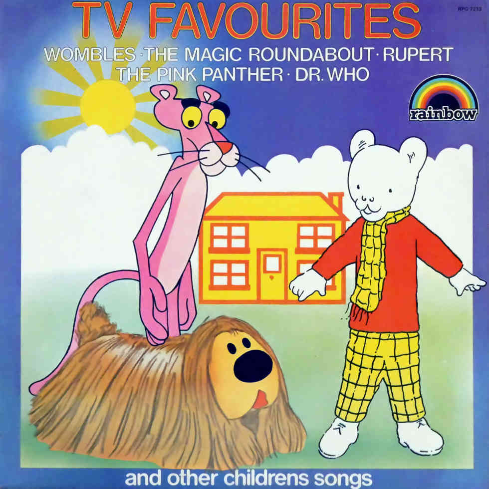 TV Favourites and other Children's Songs vinyl record cover