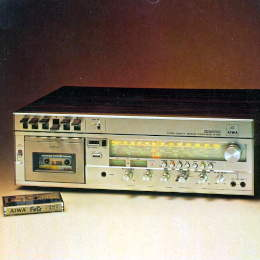 AIWA AF-3060 Integrated Cassette Reciever Amplifier