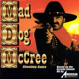 Mad Dog Mccree DVD game
