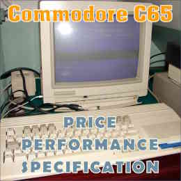Commodore C65 Journal