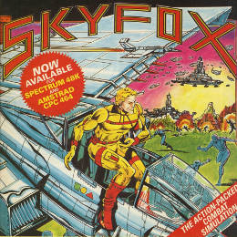 Skyfox combat flight simulator advert