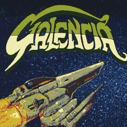 Commodore C64 shooter Galencia tribute page