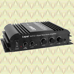 Lepai LP-168HA 2.1 amplifier review