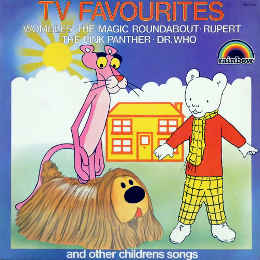 RPG-7213 TV Favourites and other Children's Songs vinyl record