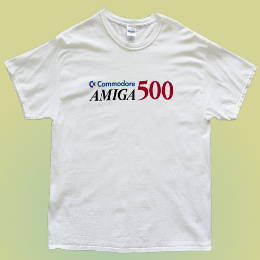 Commodore Amiga 500 tshirt