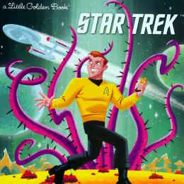 Little Golden Books I am Captain Kirk
