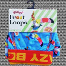Kellogg's Fruit Loops Crazy Boxer Trunks