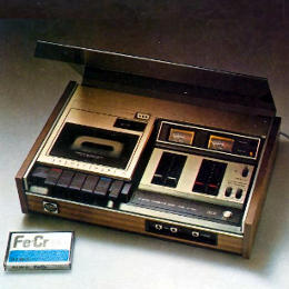 Top loading cassette decks from 1976 AIWA Hi-Fi Catalog